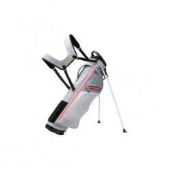 Torba do golfa z nóżkami Ultralight. Szare torebki klasyczne damskie marki INESIS, z materiału. Za 199,99 zł.