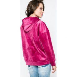 Only - Bluza Isabel. Szare bluzy z kapturem damskie ONLY, l, z elastanu. W wyprzedaży za 79,90 zł.