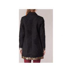 Płaszcze Desigual  GRAMO. Czarne płaszcze damskie Desigual. Za 769,30 zł.