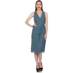 Odzież damska: Sukienka Deni Cler w kolorze gołębim