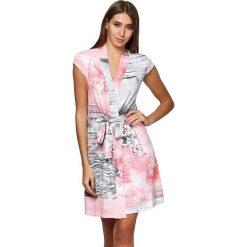 Szlafroki kimona damskie: Szlafrok ze wzorem