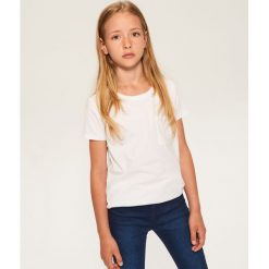 T-shirty chłopięce: T-shirt z kieszonką – Biały