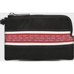 Calvin Klein - Portfel. Czarne portfele damskie Calvin Klein, z materiału. Za 179,90 zł.