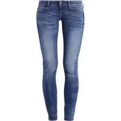 GStar 3301 LOW SKINNY  Jeans Skinny Fit elto superstretch. Niebieskie boyfriendy damskie G-Star. Za 419,00 zł.