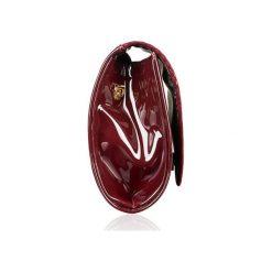 Bordowa kopertówka Felice B AUTUMN. Czerwone kopertówki damskie marki Felice, w paski, małe. Za 69,00 zł.