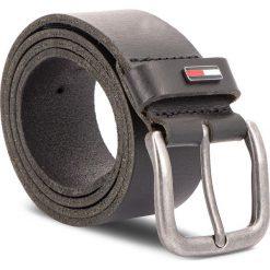 Pasek Męski TOMMY JEANS - Tjm Flag Loop Giftbo AM0AM04136 85 002. Czarne paski męskie marki Tommy Jeans, w paski, z jeansu. Za 179,00 zł.