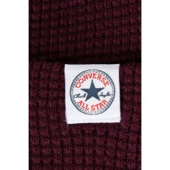 Converse - Czapka. Czarne czapki zimowe męskie Converse, na zimę, z dzianiny. W wyprzedaży za 69,90 zł.