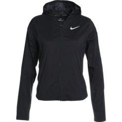 Nike Performance SHIELD CONVERTIBLE JACKET Kurtka do biegania black/reflective silver. Czarne kurtki damskie do biegania Nike Performance, m, z materiału. W wyprzedaży za 359,10 zł.