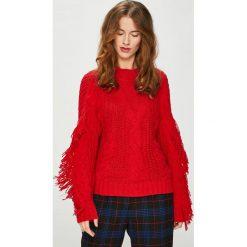 Medicine - Sweter Royal Purple. Fioletowe swetry klasyczne damskie marki MEDICINE, l, z bawełny, z okrągłym kołnierzem. Za 139,90 zł.