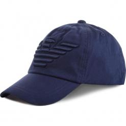 Czapka z daszkiem EMPORIO ARMANI - 404581 9P588 57235 Peacot Blue. Niebieskie czapki z daszkiem męskie marki Emporio Armani, z bawełny. Za 249,00 zł.