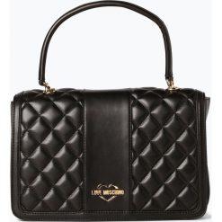 Love Moschino - Damska torebka na ramię, czarny. Czarne torebki klasyczne damskie Love Moschino, ze skóry, pikowane. Za 929,95 zł.