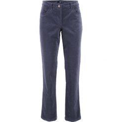 Rurki damskie: Spodnie sztruksowe ze stretchem bonprix jagodowy