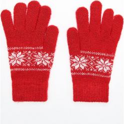 Rękawiczki - Czerwony. Czerwone rękawiczki damskie Cropp. Za 24,99 zł.