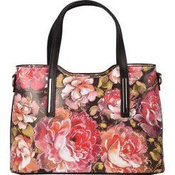 Torebki klasyczne damskie: Skórzana torebka w kolorze czerwonym – 32 x 22 x 12 cm