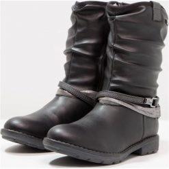 S.Oliver RED LABEL Śniegowce black. Czarne buty zimowe damskie marki s.Oliver RED LABEL, z materiału. W wyprzedaży za 194,35 zł.