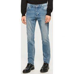 Jeansy slim fit - Niebieski. Niebieskie jeansy męskie relaxed fit marki Scotch Shrunk. Za 149,99 zł.