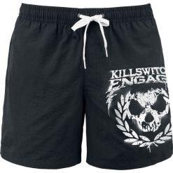 Killswitch Engage Skull Leaves Kąpielówki czarny. Czarne kąpielówki męskie marki Black Premium by EMP. Za 79,90 zł.