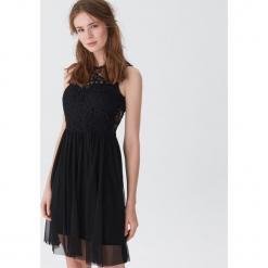 Sukienka z koronką - Czarny. Niebieskie sukienki koronkowe marki House, m. Za 99,99 zł.