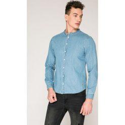Casual Friday - Koszula. Szare koszule męskie na spinki marki S.Oliver, l, z bawełny, z włoskim kołnierzykiem, z długim rękawem. W wyprzedaży za 129,90 zł.
