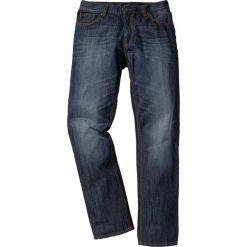 """Dżinsy Regular Fit Straight bonprix ciemnoniebieski """"used"""". Niebieskie jeansy męskie regular marki House. Za 109,99 zł."""