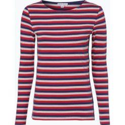 Marie Lund - Damska koszulka z długim rękawem, beżowy. Brązowe bluzki sportowe damskie Marie Lund, xs, w paski, z długim rękawem. Za 99,95 zł.