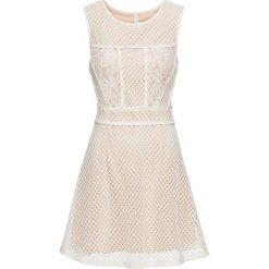 Sukienki: Sukienka letnia bonprix kremowy
