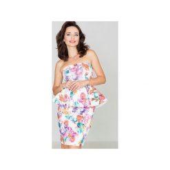 Sukienki hiszpanki: Sukienka K283 Kwiaty