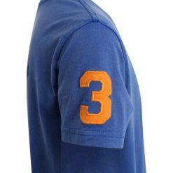 Polo Ralph Lauren BIG Tshirt z nadrukiem new iris. Niebieskie t-shirty chłopięce Polo Ralph Lauren, z nadrukiem, z bawełny. Za 169,00 zł.