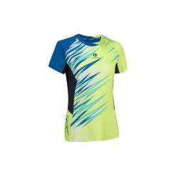 T-shirty damskie: T-SHIRT 860 ŻÓŁTO-NIEB.
