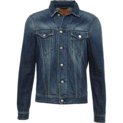 Replay Kurtka jeansowa blue denim. Niebieskie kurtki męskie jeansowe marki Reserved, l. Za 659,00 zł.