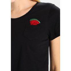 T-shirty damskie: Kaffe VANNI Tshirt z nadrukiem black deep