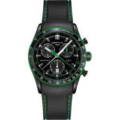 RABAT ZEGAREK CERTINA DS 2 Gent Precidrive Chrono C024.447.17.051.22. Czarne zegarki męskie CERTINA, ze stali. W wyprzedaży za 2974,40 zł.
