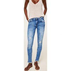Mango - Jeansy push-up Kim. Niebieskie jeansy damskie Mango, z bawełny. Za 119,90 zł.
