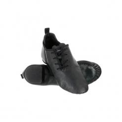 Buty do tańca nowoczesnego. Czarne buty do fitnessu damskie marki DOMYOS, z poliesteru. Za 99,99 zł.