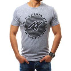 T-shirty męskie z nadrukiem: T-shirt męski z nadrukiem szary (rx2272)