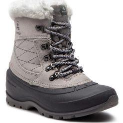 Śniegowce KAMIK - SnovalleyL WK2156  Lt Grey. Szare buty zimowe damskie Kamik, z materiału, na niskim obcasie. W wyprzedaży za 299,00 zł.