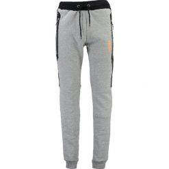 """Spodnie dresowe męskie: Spodnie dresowe """"Menghini"""" w kolorze szarym"""