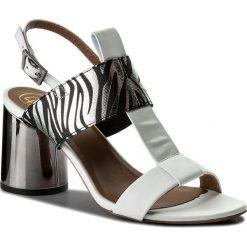 Rzymianki damskie: Sandały BALDOWSKI – D02209-4400-001 Nappa Biała