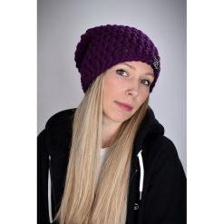 Czapka Mono 23 - FIOLETOWA. Fioletowe czapki zimowe damskie Pakamera. Za 69,00 zł.