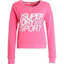 Bluzy damskie: Superdry Bluza pop pink marl