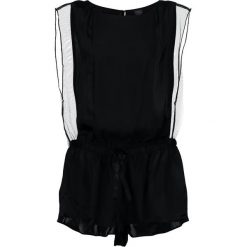 Piżamy damskie: Calvin Klein Underwear ROMPER Piżama black