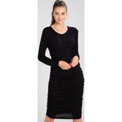 Sukienki hiszpanki: JUST FEMALE CALLAS  Sukienka z dżerseju black