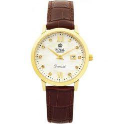 Royal London 11110-02 Zegarek Damska Z Diamentami. Czarne zegarki damskie marki Diesel. W wyprzedaży za 461,00 zł.