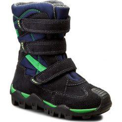 Buty zimowe chłopięce: Śniegowce BARTEK – 94646T-2/04P Ocean