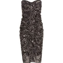 Sukienki: Sukienka leo bonprix czarno-szary leo