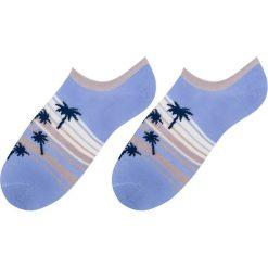 More - Stopki. Niebieskie skarpetki damskie marki More, z elastanu. W wyprzedaży za 6,90 zł.