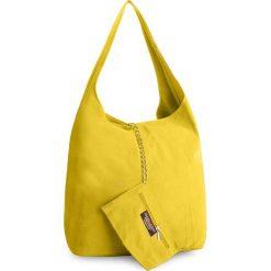Torebka CREOLE - K10408 Żółty. Żółte torebki klasyczne damskie Creole, ze skóry, duże. W wyprzedaży za 129,00 zł.