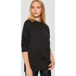 Gładka bluza - Czarny. Czarne bluzy damskie marki Cropp, l. Za 59,99 zł.