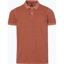 Tommy Hilfiger - Męska koszulka polo, pomarańczowy. Szare koszulki polo marki TOMMY HILFIGER, z bawełny. Za 179,95 zł.