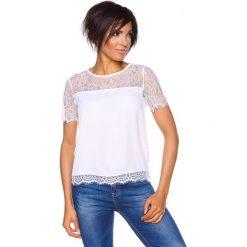 """T-shirty damskie: Koszulka """"Emma"""" w kolorze białym"""